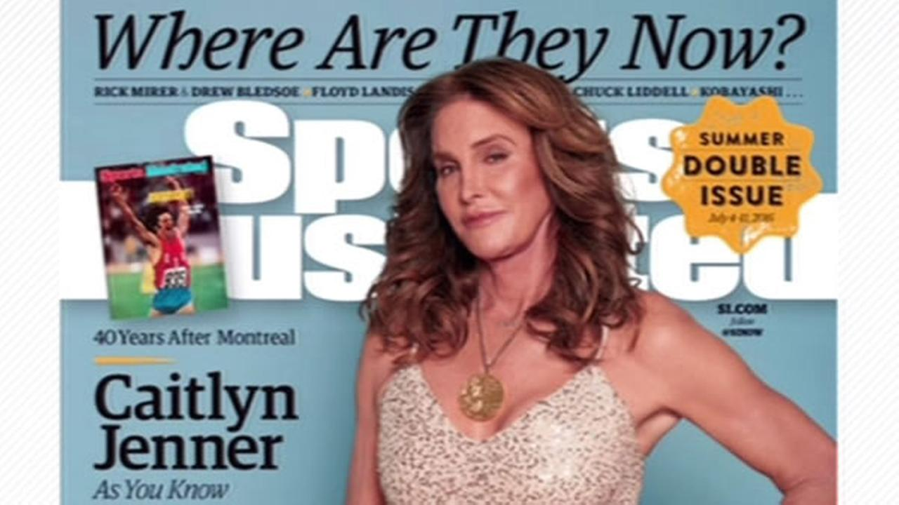 Caitlyn Jenner poses on the cover of Sports Illustrated in an issue that hit newsstands on Tuesday, June 28, 2016.