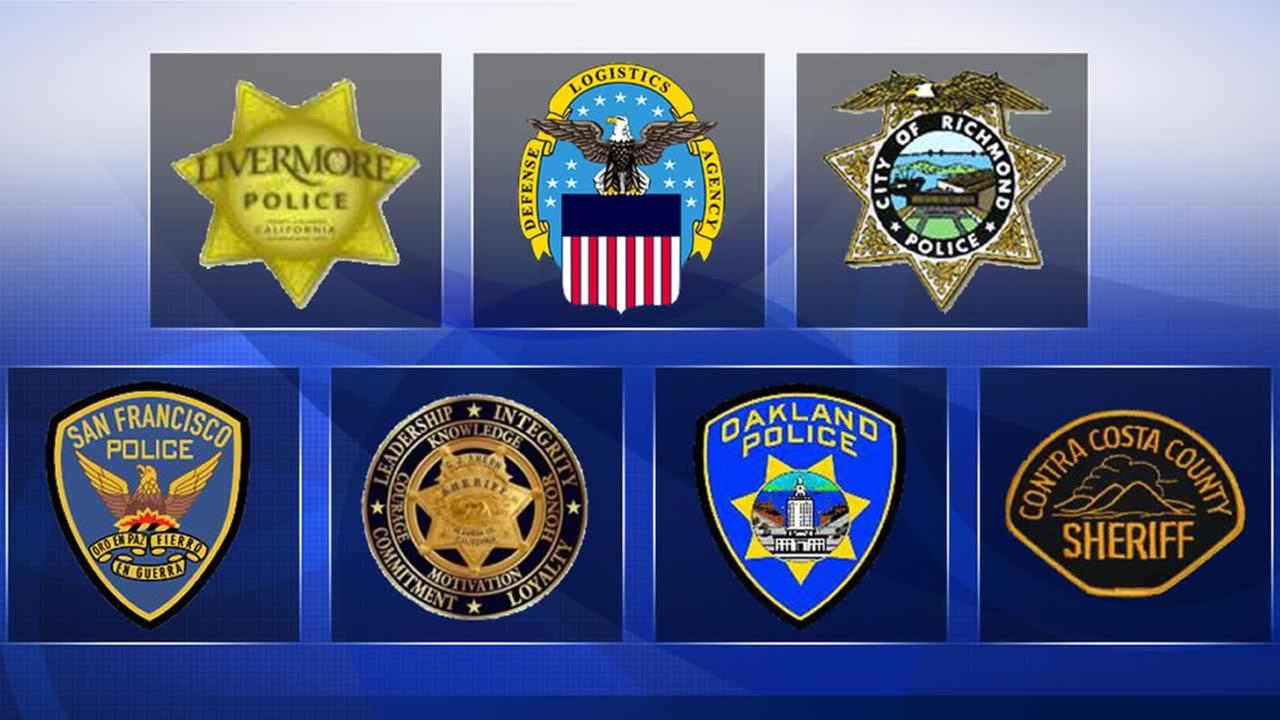 What began as the Oakland police sex scandal now involves officers from seven different law enforcement agencies.
