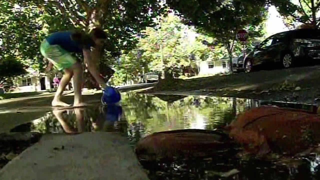 San Jose water leak