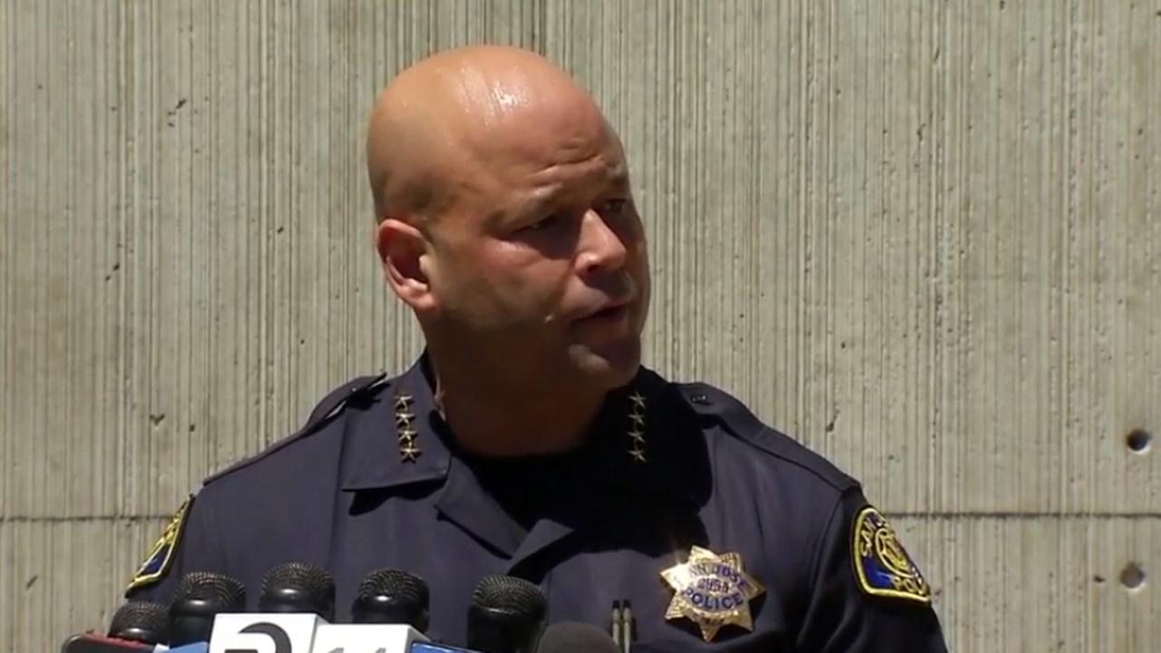 San Jose Police Chief Eddie Garcia speaks at news conference on Tuesday, July 5, 2016.