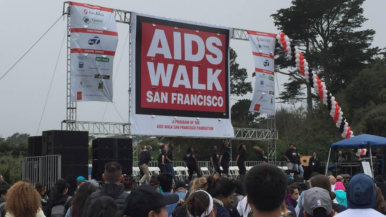AIDS Walk San Francisco on Sunday, July 17, 2106.