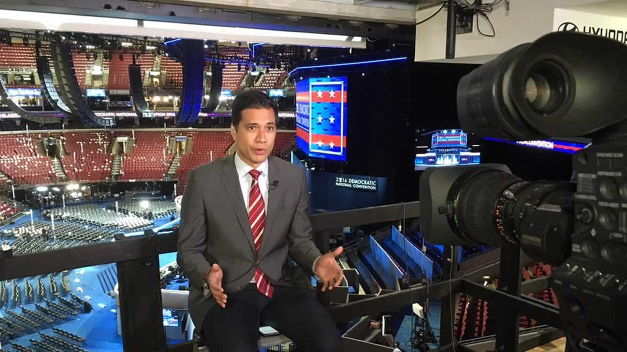 Reggie Aqui reports live from the Democratic National Convention in Philadelphia on Wednesday, July 27, 2016.
