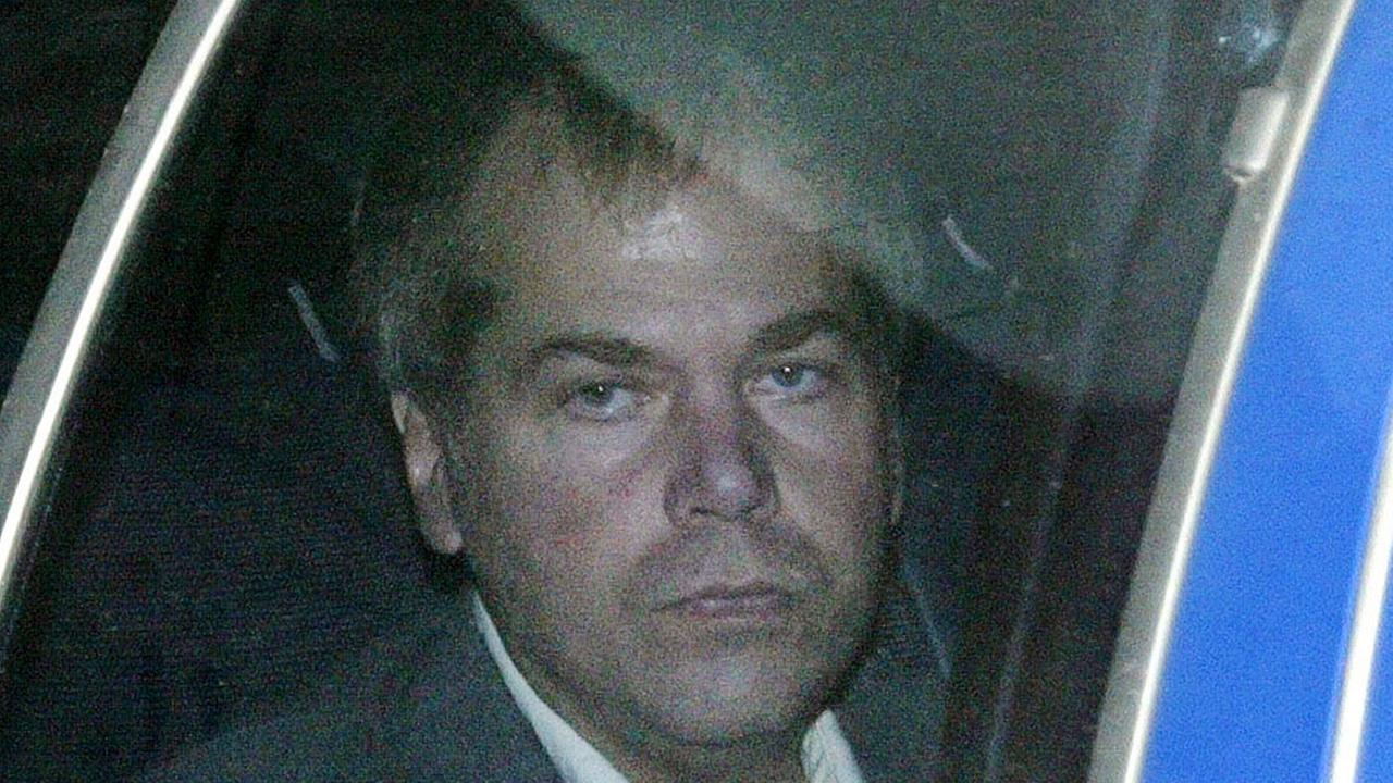 FILE-In this Nov. 18, 2003 file photo, John Hinckley Jr. arrives at U.S. District Court in Washington.