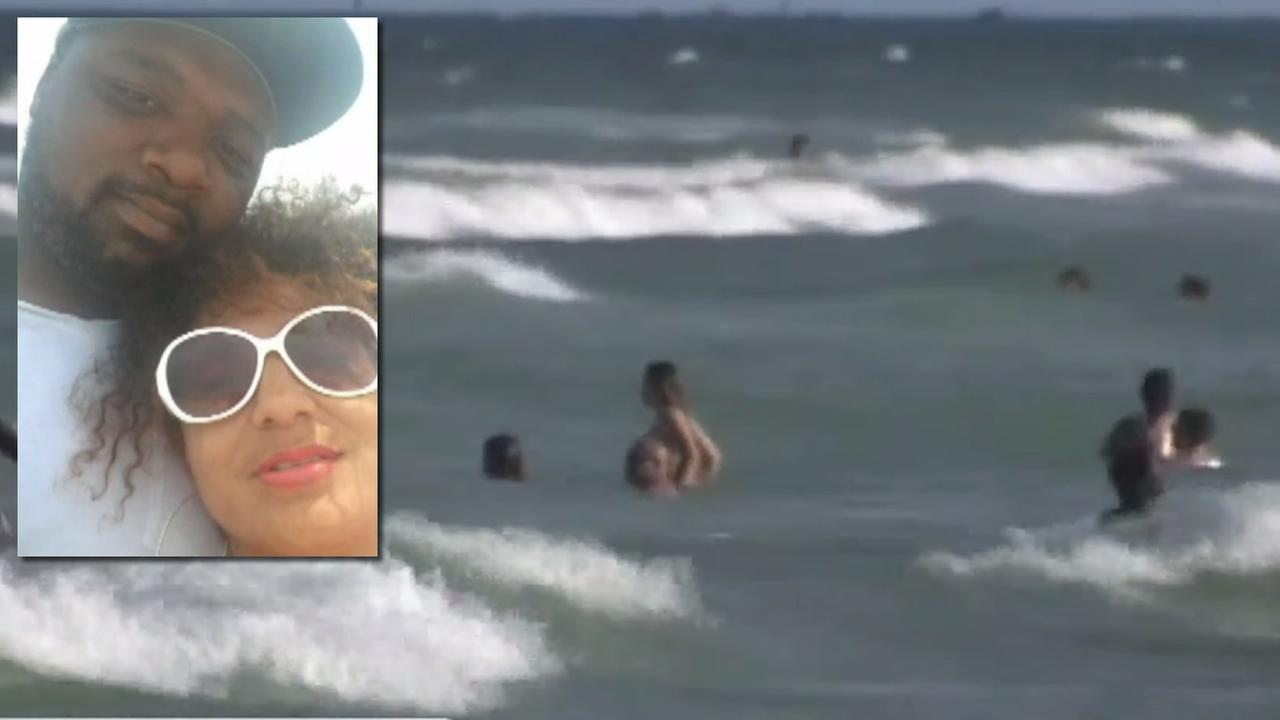 Husband drowns saving wife in Florida rip current