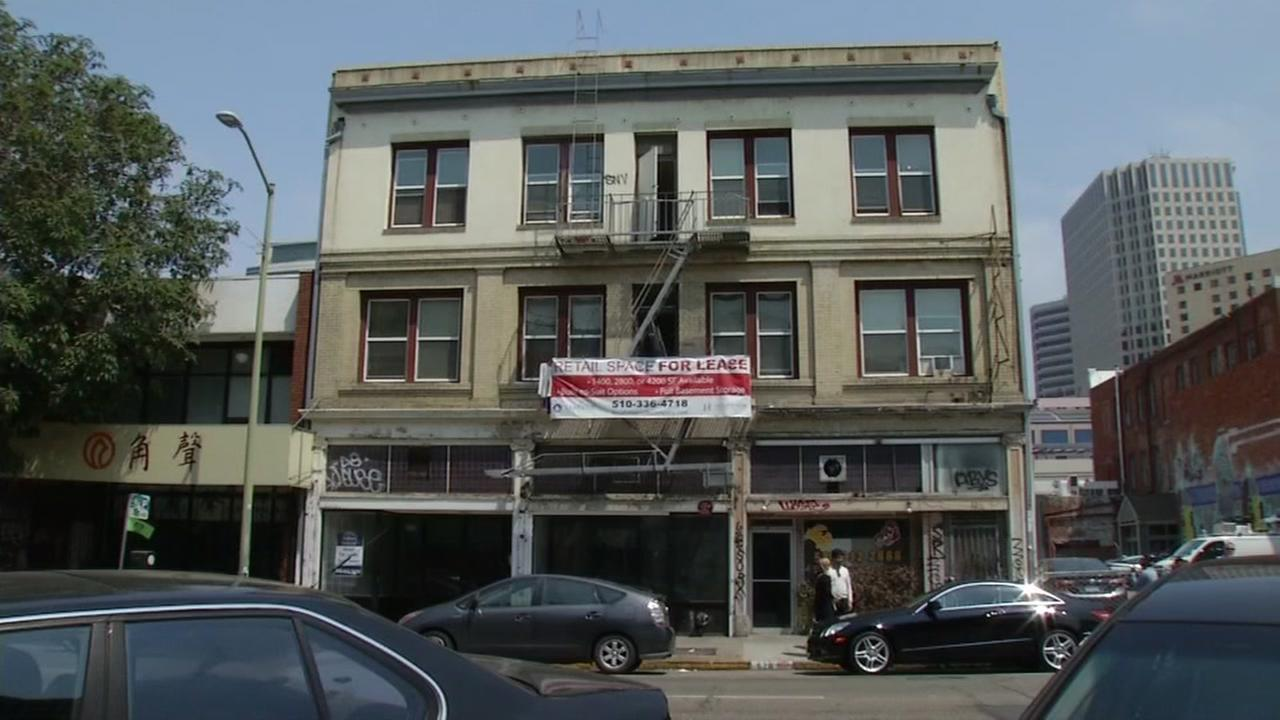 The owners of this SRO, seen on August 19, 2016 in Oakland, Calif., have been ordered to repair what tenants call deplorable living conditions.