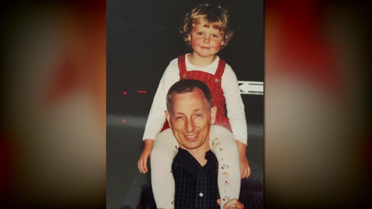 This undated image shows Vladimir Matyssik and his daughter, Kristina.