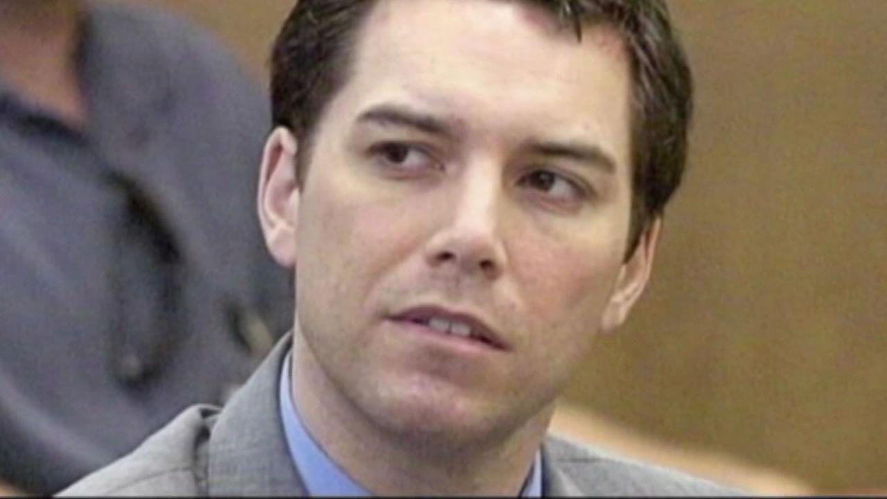 This undated image shows convicted killer Scott Peterson in court.