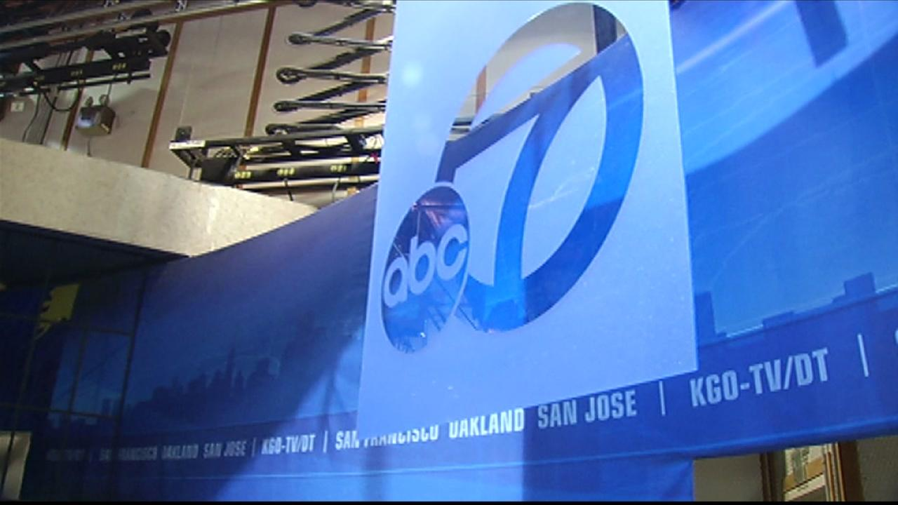 This image from 2016 shows the old ABC7 News set.