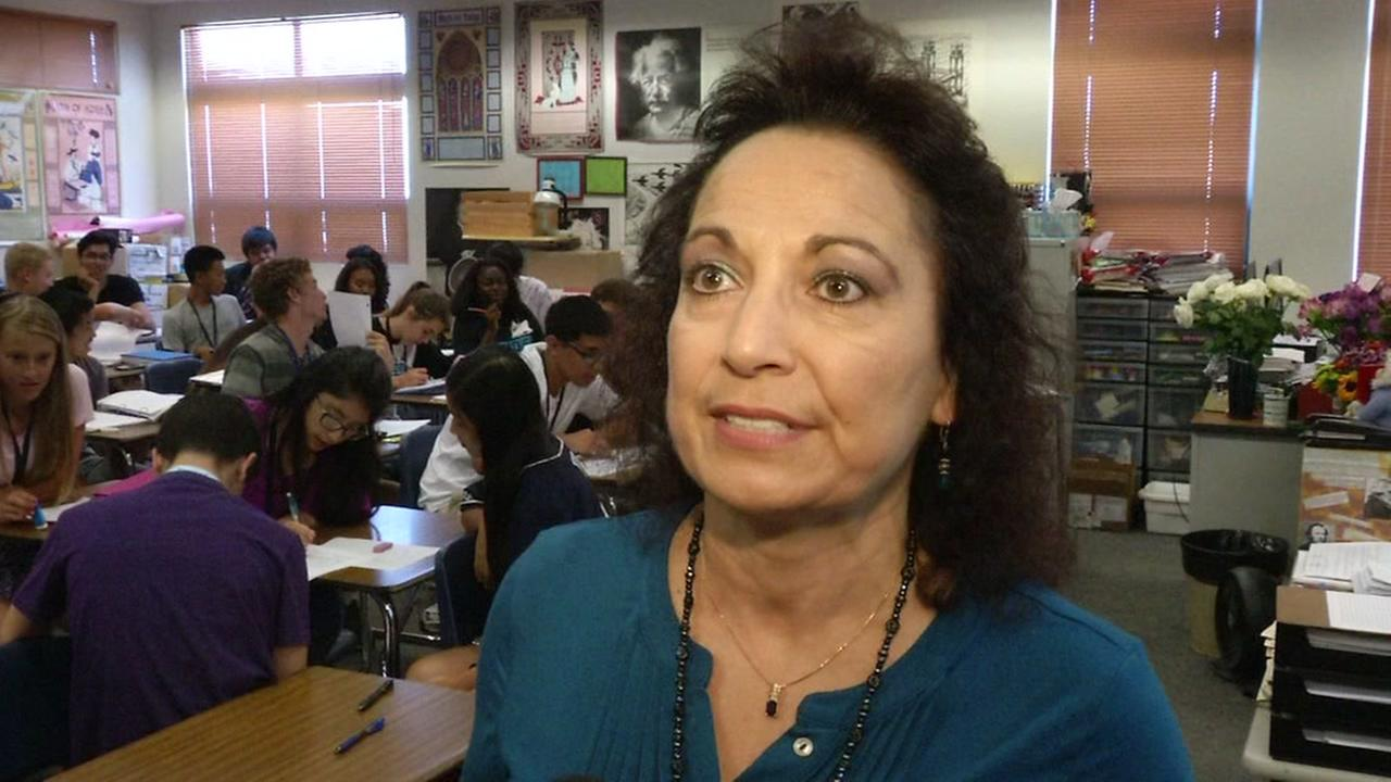 Deer Valley High School teacher Maria McClain, Thursday, September 2, 2016.