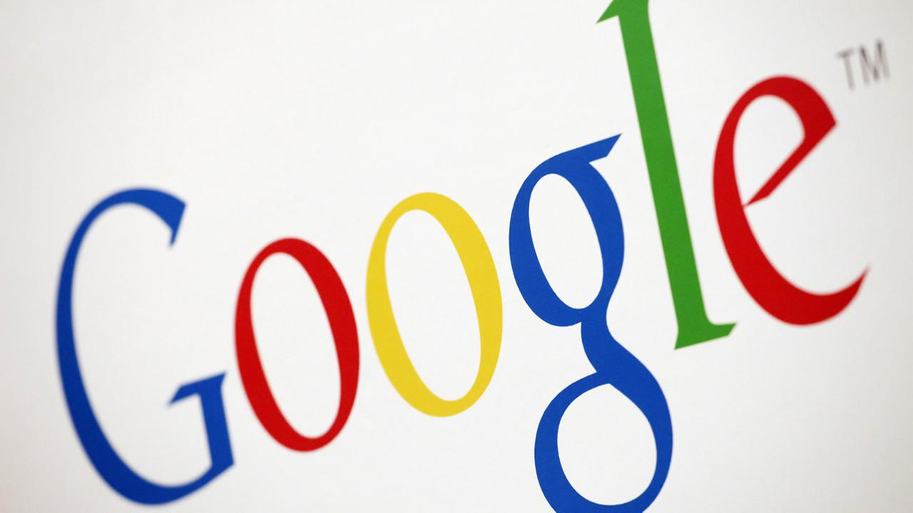 In this Dec. 16, 2010 file photo, the Google logo is displayed in the companys New York office. (AP Photo/Mark Lennihan, File)