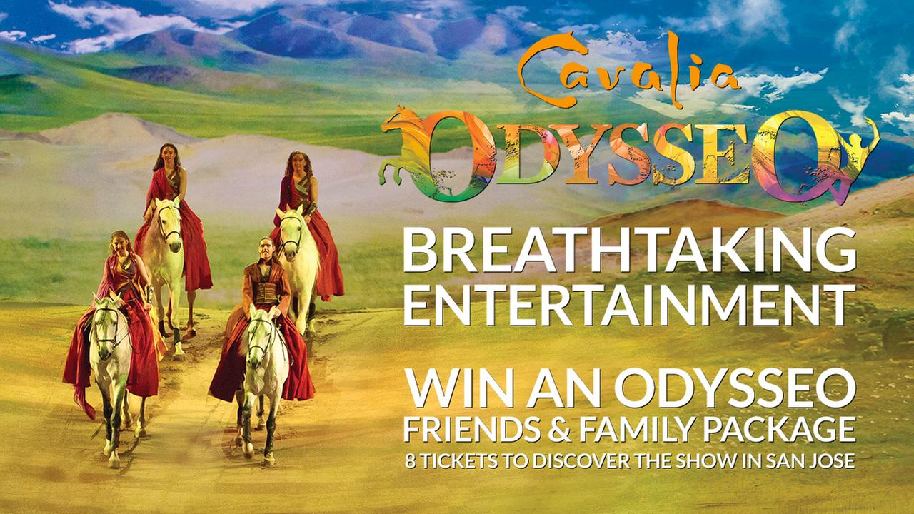 ENTER NOW TO WIN AN ODYSSEO BY CAVALIA RENDEZ-VOUS VIP EXPERIENCE FOR 8!