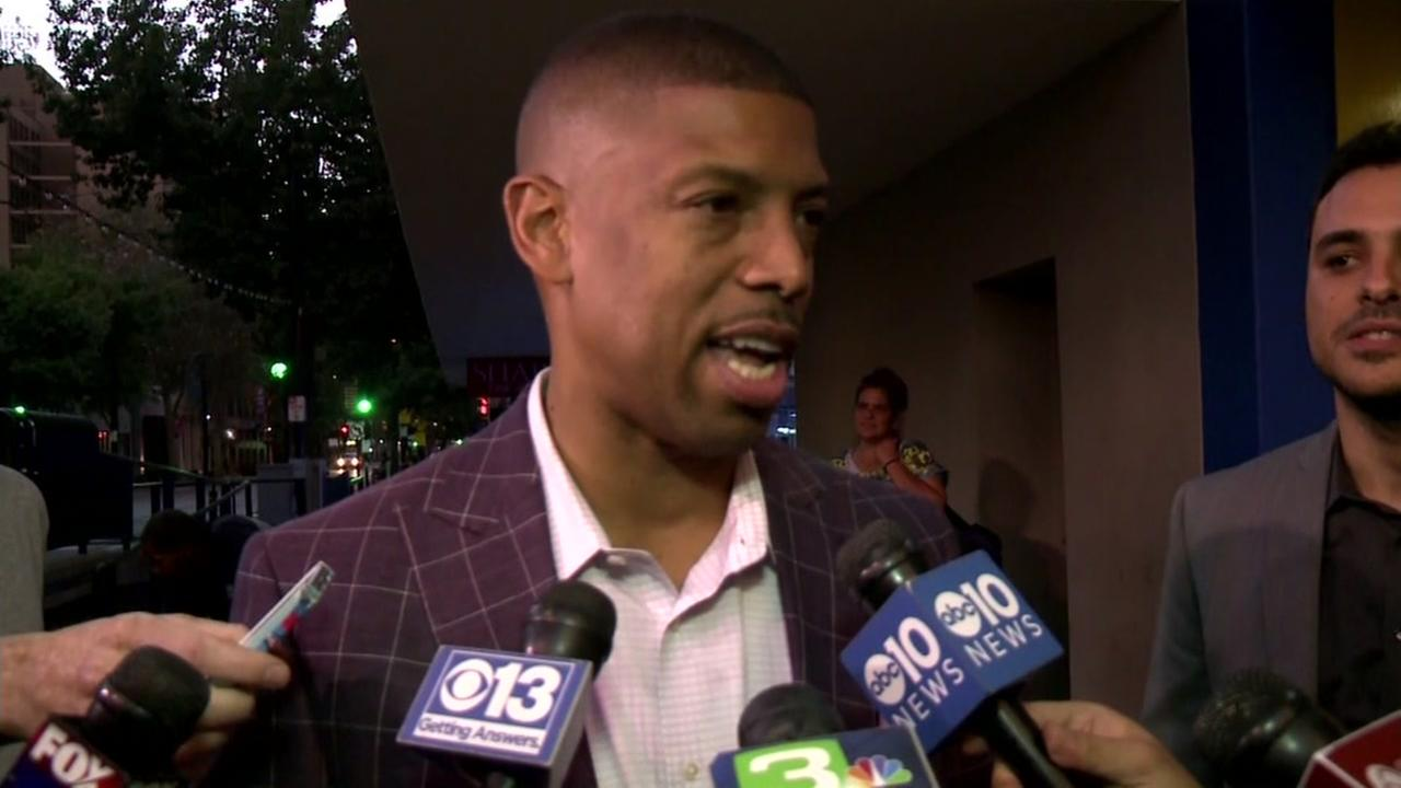This undated image shows Sacramento mayor Kevin Johnson.