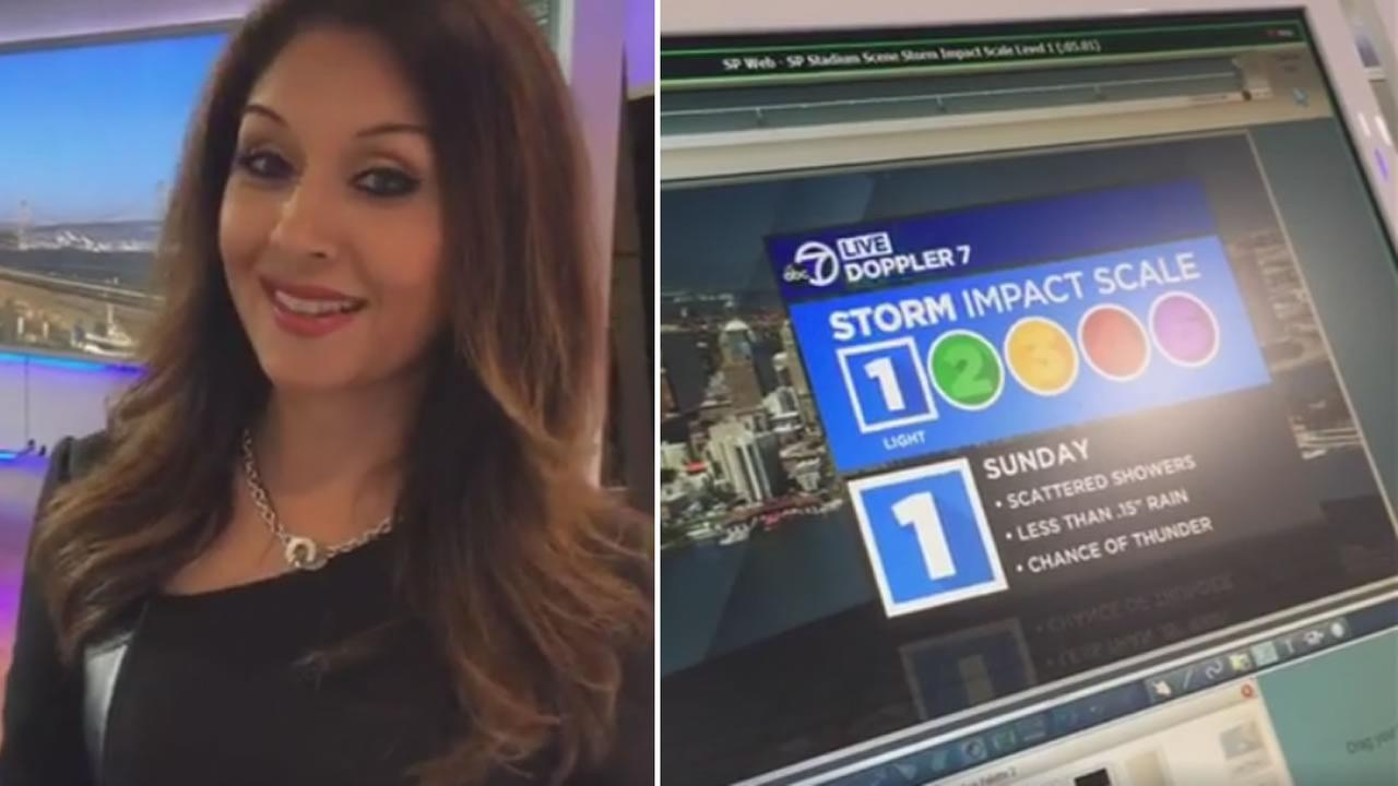Meteorologist Sandhya Patel answered viewer questions about an upcoming storm live on Facebook on Friday, September 30, 2016.