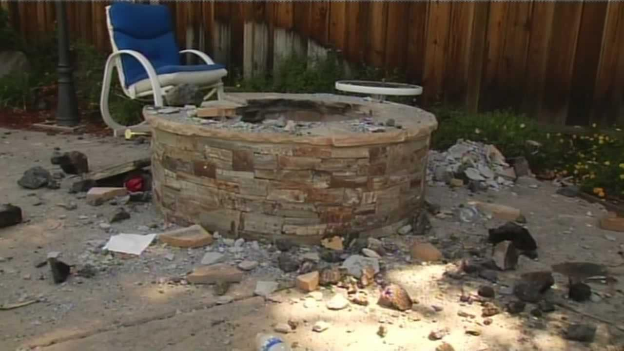 Two girls injured after barbecue pit explosion - Two Girls Injured When Barbecue Pit Exploded In Backyard Of Home