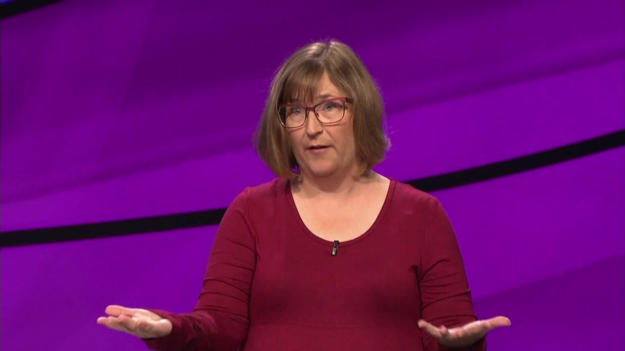 Pidge Meade of Pacifica, Calif. will be on an episode Jeopardy! on Monday, Oct. 10, 2016.