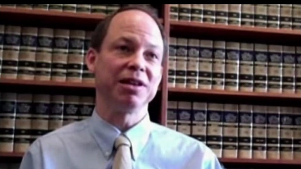 This undated image shows judge Aaron Persky, who presided over the infamous Brock Turner Trial in Santa Clara, Calif.