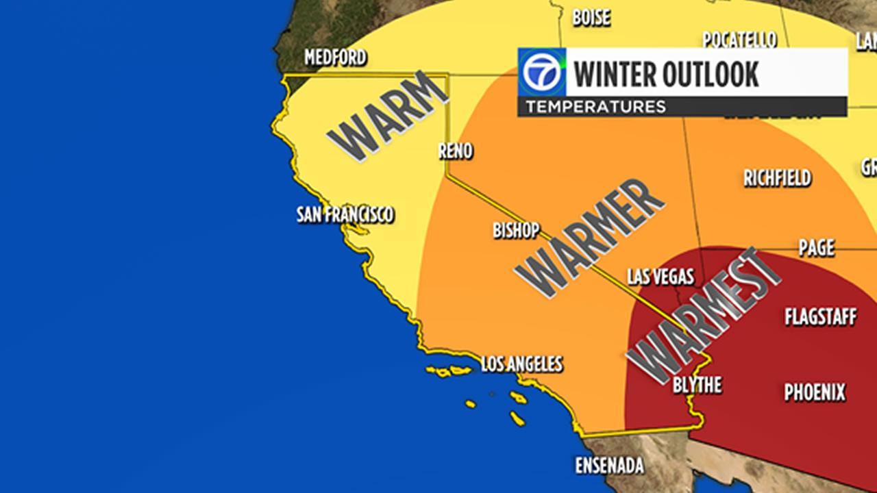 Winter outlook: warmer, but wetter