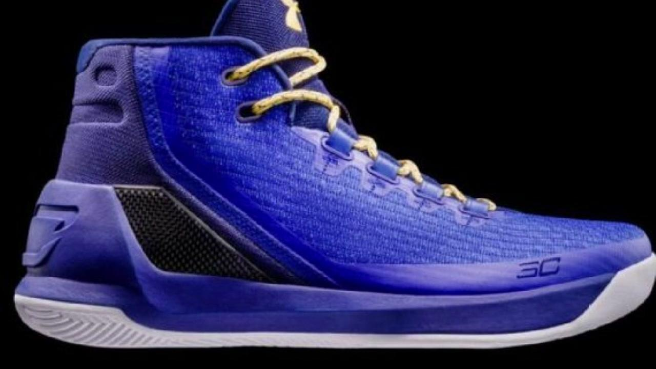 check out warriors star steph curry s new signature shoe