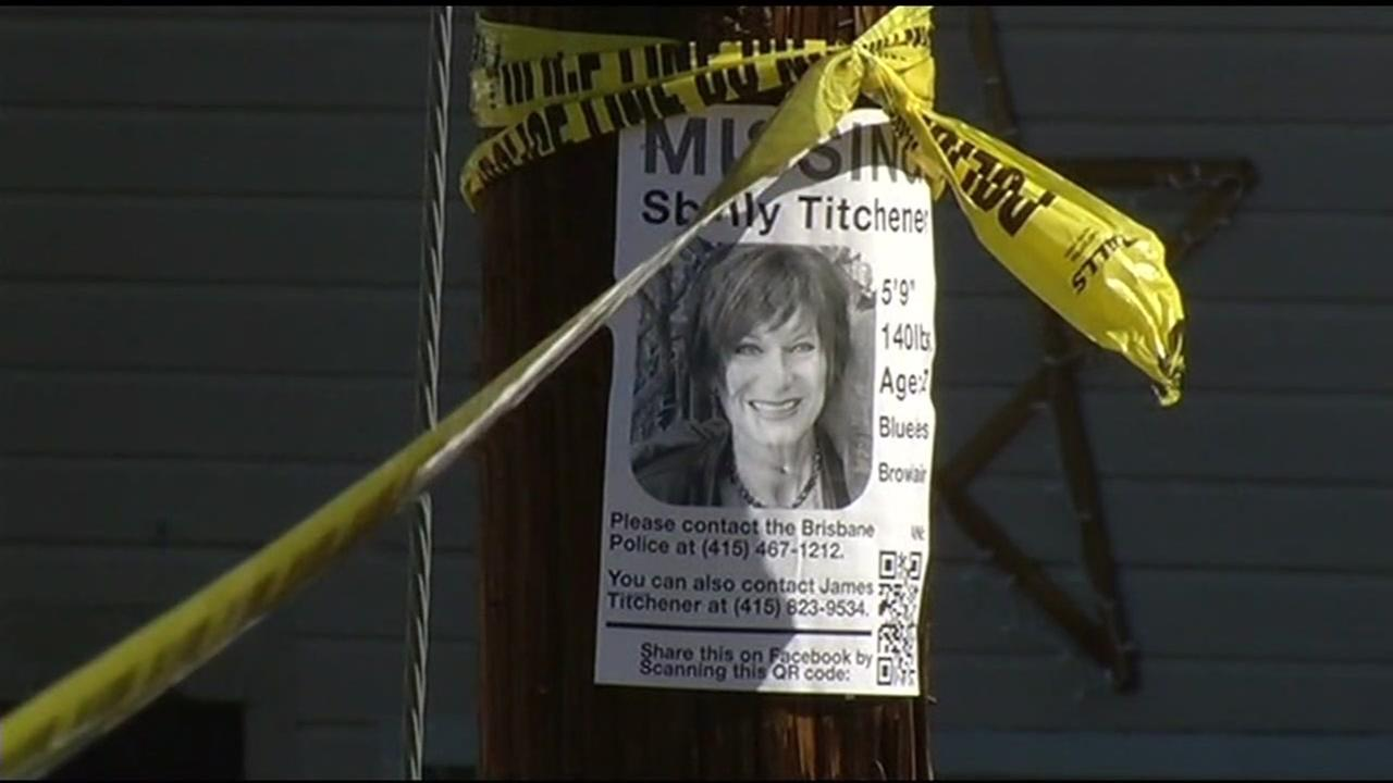 This undated image shows the Missing flyer for Shelly Titchener, a Brisbane woman whose torso was found along the Fremont shoreline on Feb. 21, 2016.