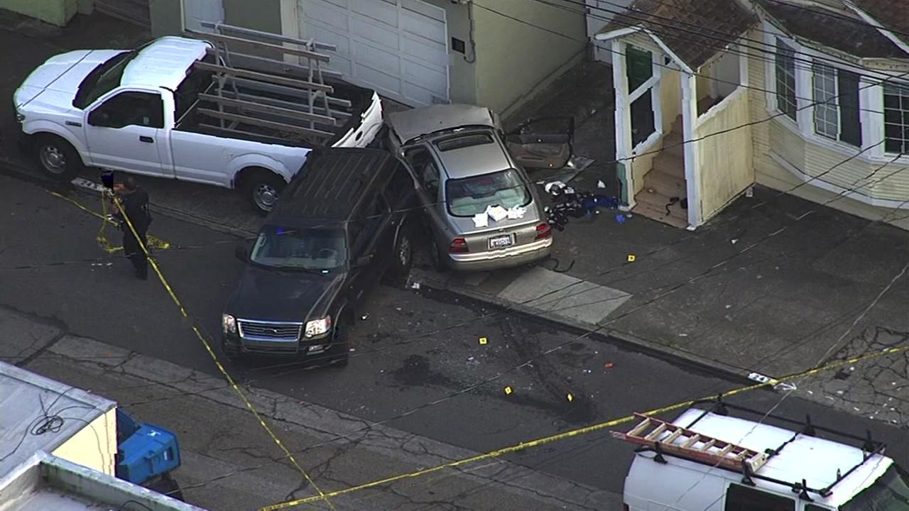 Police reported to an incident at Capitol Avenue and Montana Street in San Franciscos Ocean View neighborhood on Oct. 25, 2016.