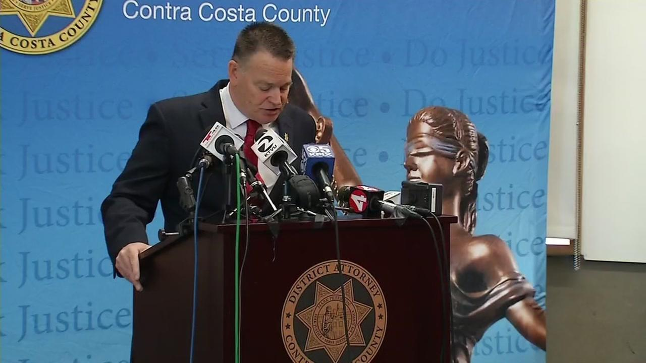 The Contra Costa Sheriffs department gave a press conference on Friday, Nov. 5, 2016.