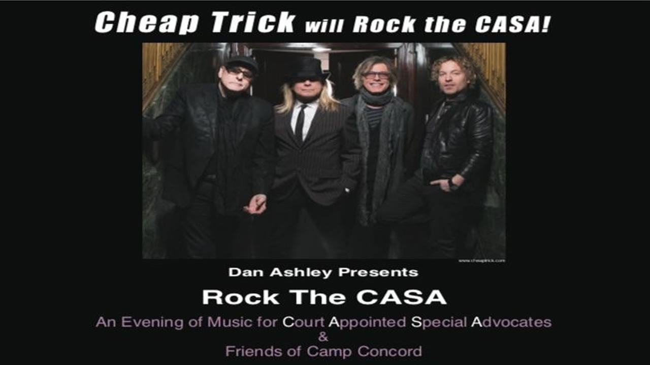 Cheap Trick will play ABC7 anchor Dan Ashleys Rock The Casa event on March 5th, 2016.