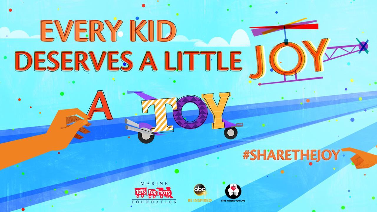 #ShareTheJoy and GIVE WHERE YOU LIVE