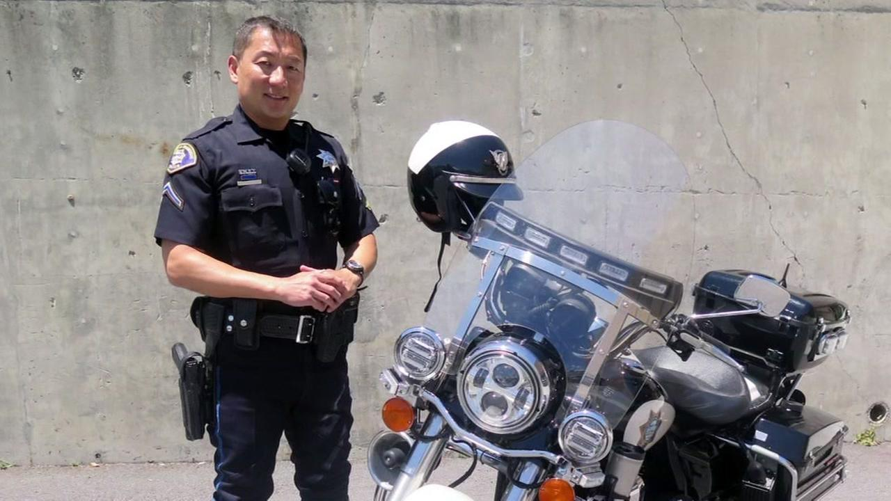 South San Francisco Police Officer Robby Chon