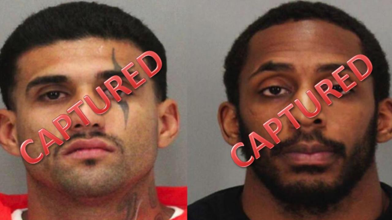 Both Santa Clara County Jail inmates have been captured.