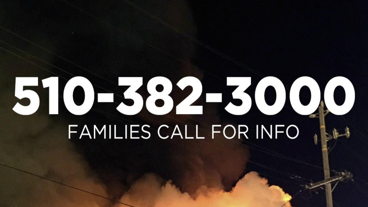 If you are having trouble locating a loved one, use the hotline above for more information.