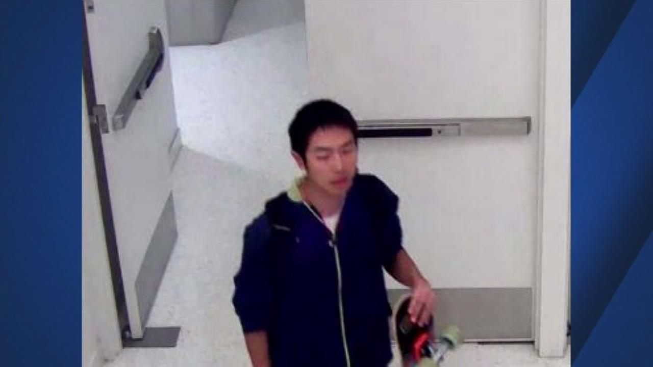 This is an undated image of a suspect in a San Jose State University sexual battery case in San Jose, Calif.