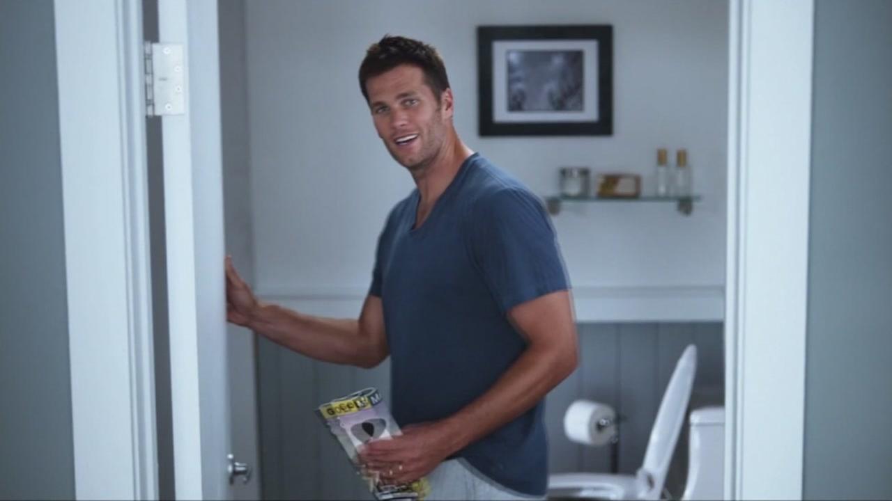 New England Patriots Quarterback Tom Brady featured in new Intel Super Bowl Ad
