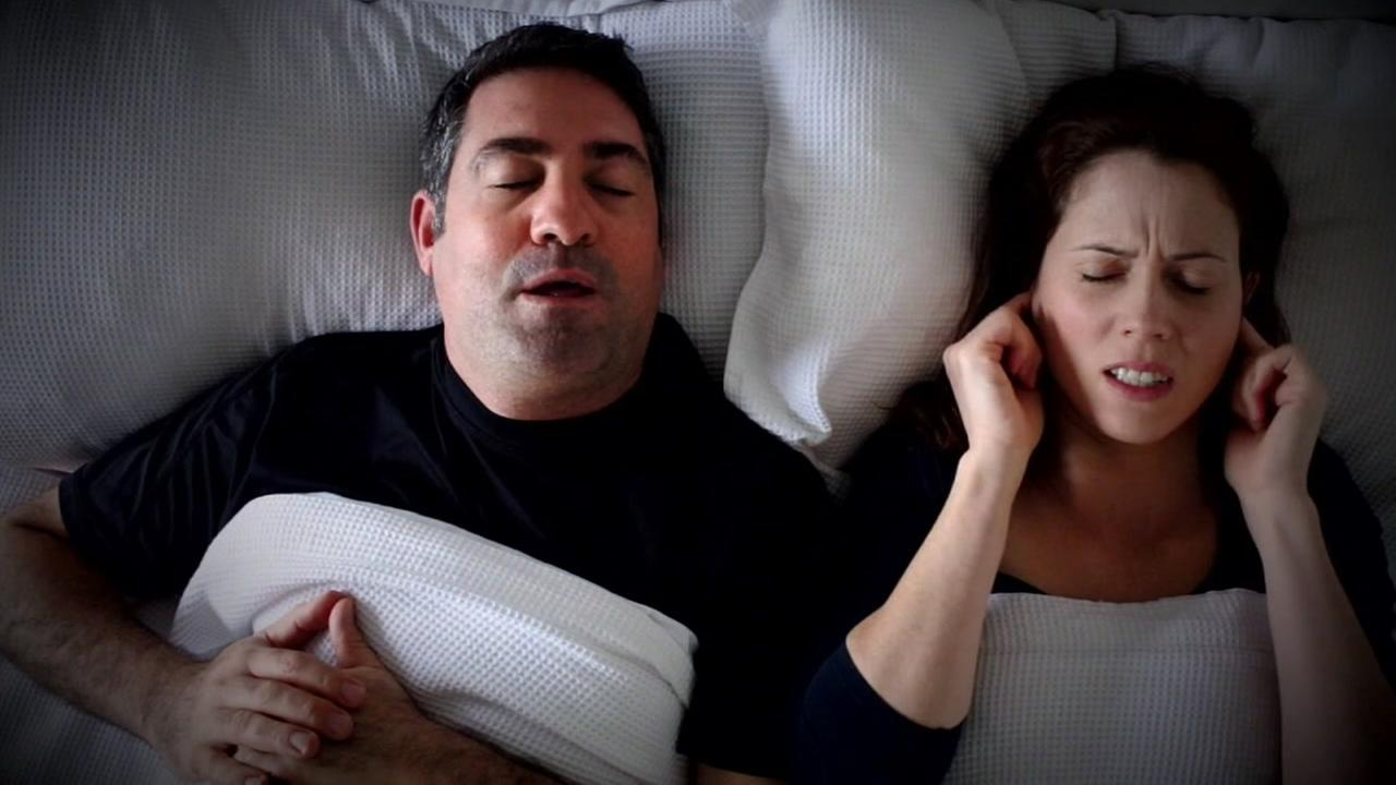Study finded snoring causes spouses to lose one hour of sleep