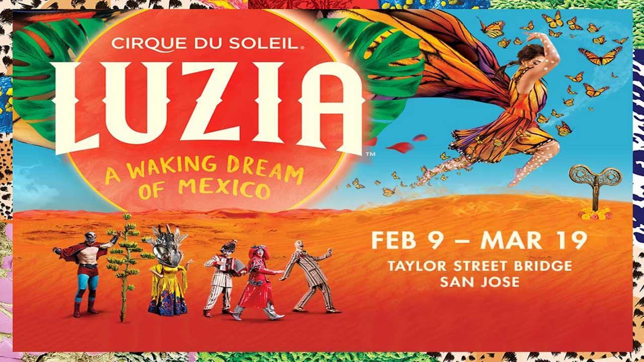Enter for chance to win tickets to Luzia by Cirque du Soleil