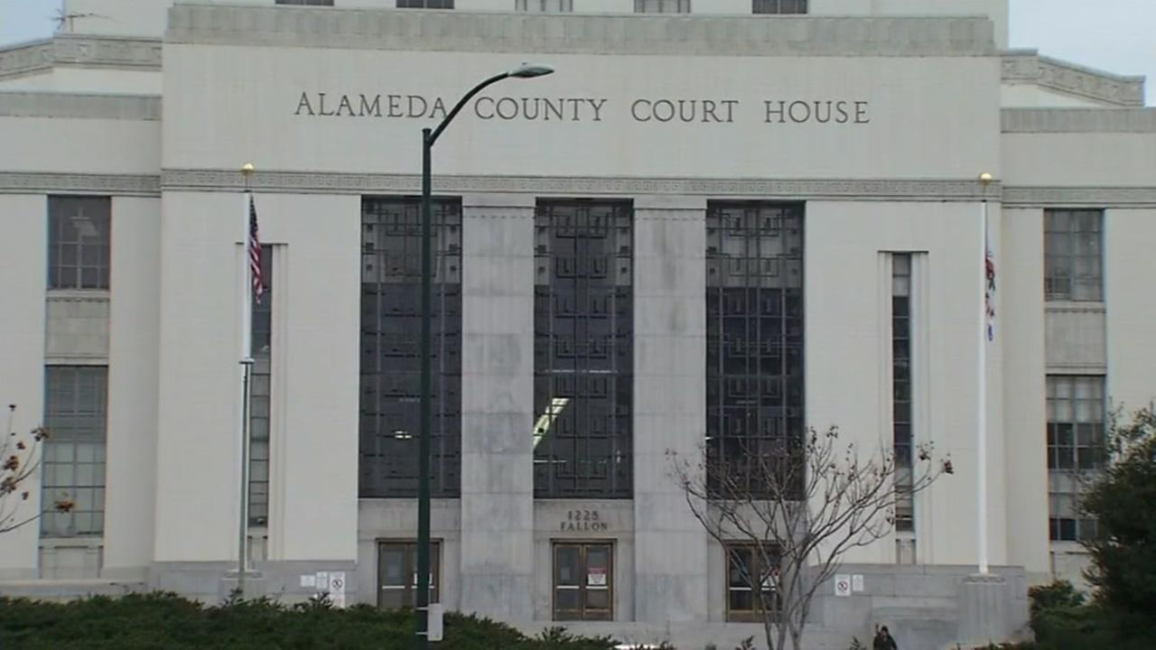 The Alameda County Courthouse is seen in Oakland, Calif. on Wednesday, February 1, 2017.