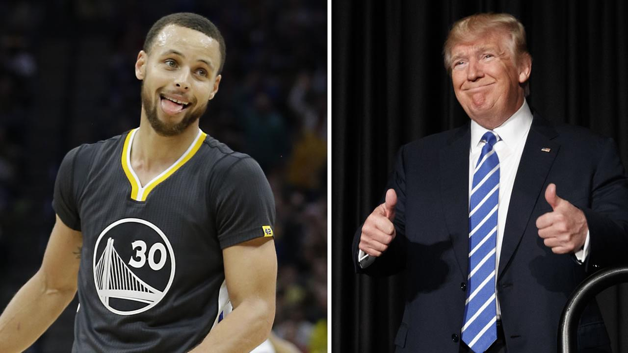 Warriors star Stephen Curry is responding to Under Armours CEOs comments about Donald Trump.