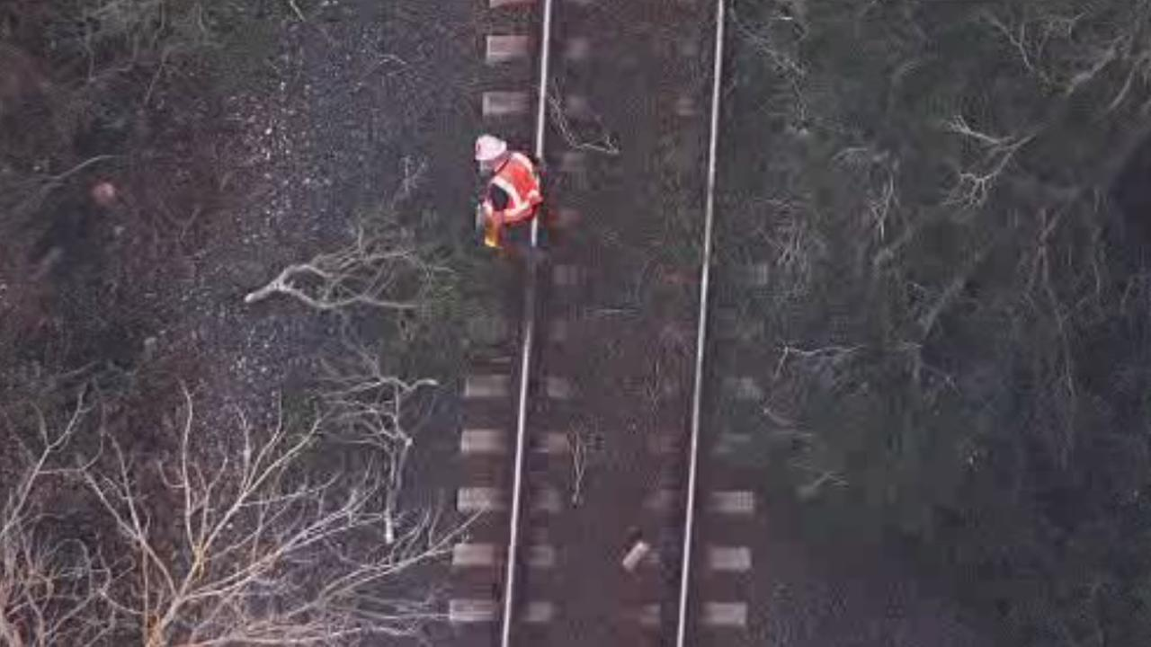ACE Train track cleanup