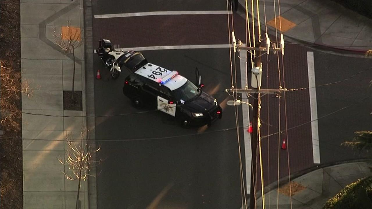 Pedestrian killed in car crash near Cherryland in Hayward