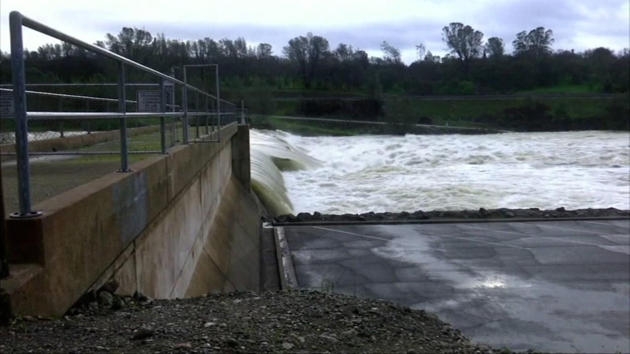 Storms prompt flood concerns at Anderson Reservoir, Oroville Dam repairs continue