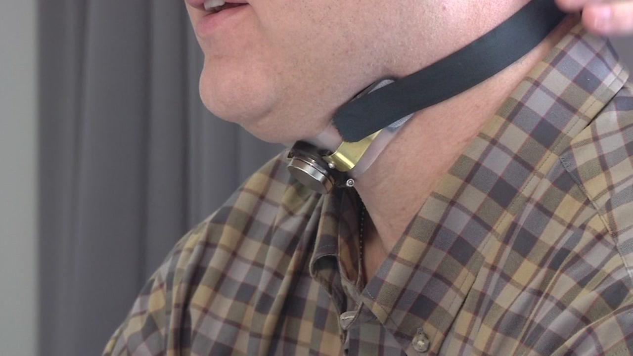 A first-of-its-kind neck implant keeps airways open to fight sleep apnea.
