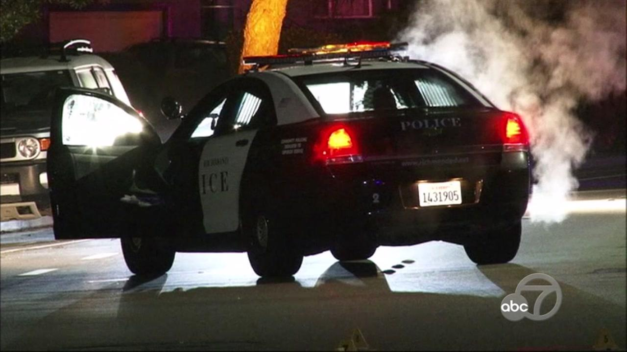 Police investigate officer-involved shooting in Richmond, California, Tuesday, March 7, 2017.