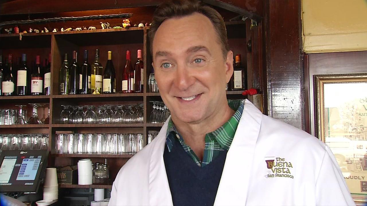 The Chew host Clinton Kelly visited The Buena Vista in San Francisco on Tuesday, March 7, 2017.