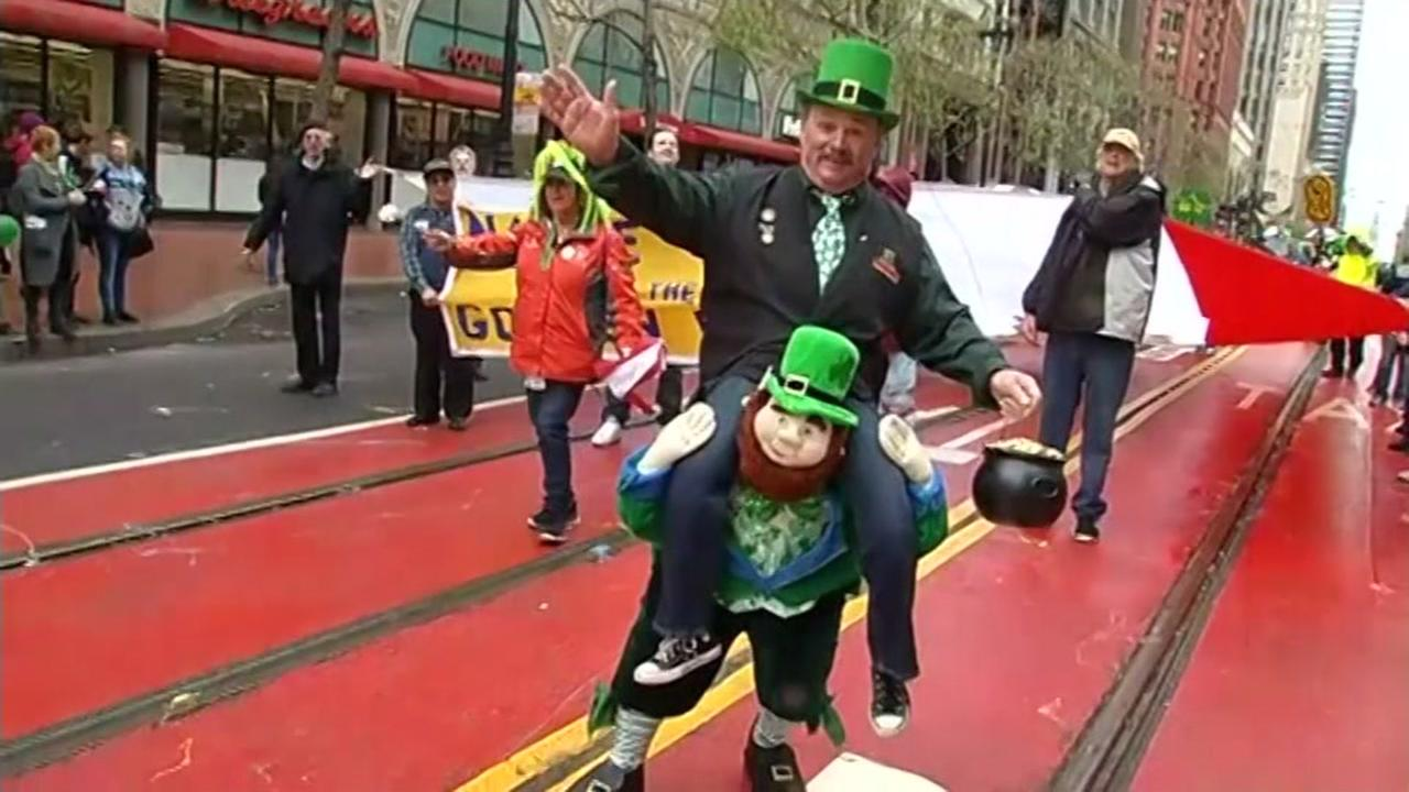People celebrated Irish culture in the St. Patricks Day Parade in San Francisco on Saturday March 11, 2017.