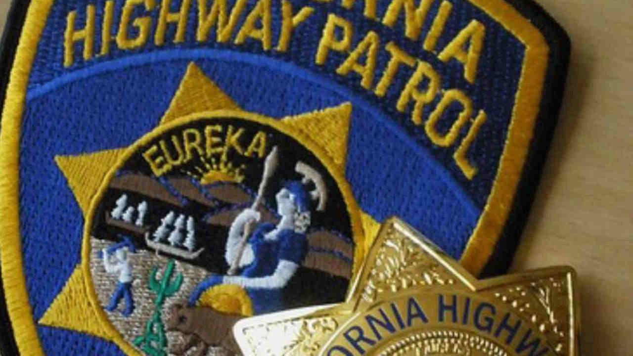 The seal of the California Highway Patrol is seen in this undated image.