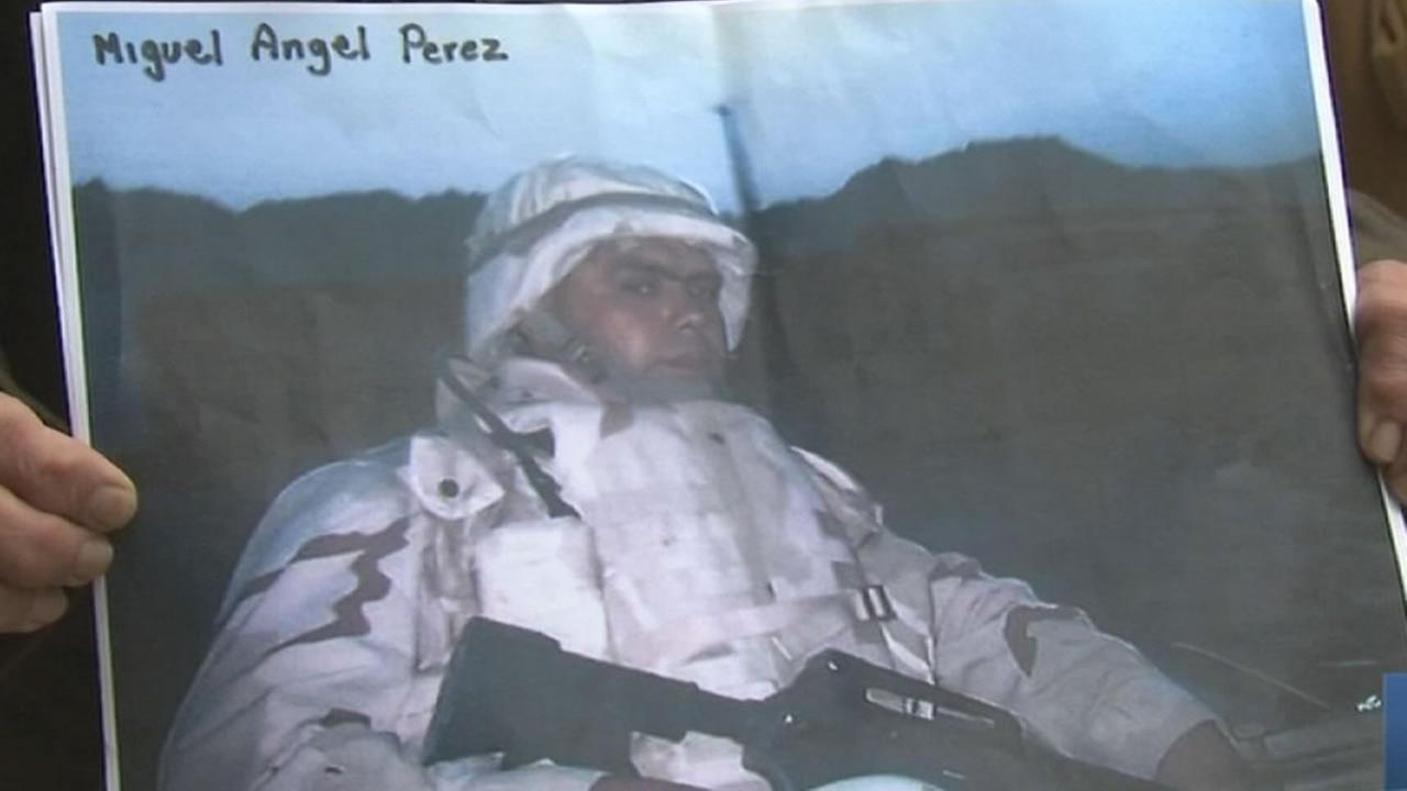 Army private 1st class miguel perez jr