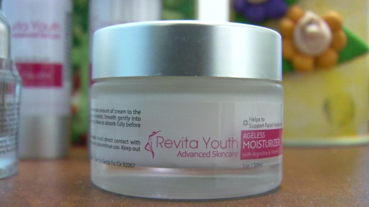This is an undated image of a Revitayouth face cream.