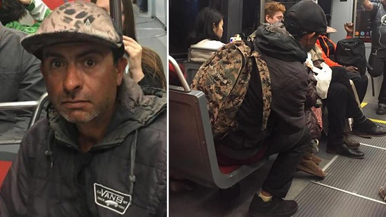 This undated image shows a man suspected in a series of sexual batteries on Muni in San Francisco.
