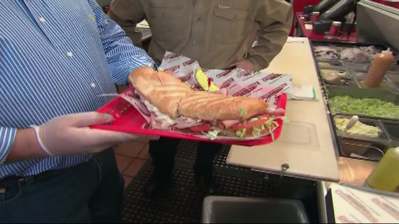 Firehouse Subs has a Tax Day discount in the Bay Area, among other businesses.