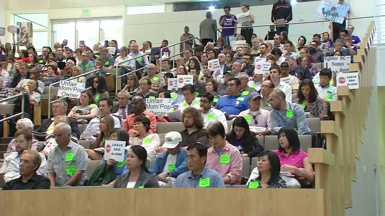 San Jose City Council meeting, Tuesday, April 19, 2017.