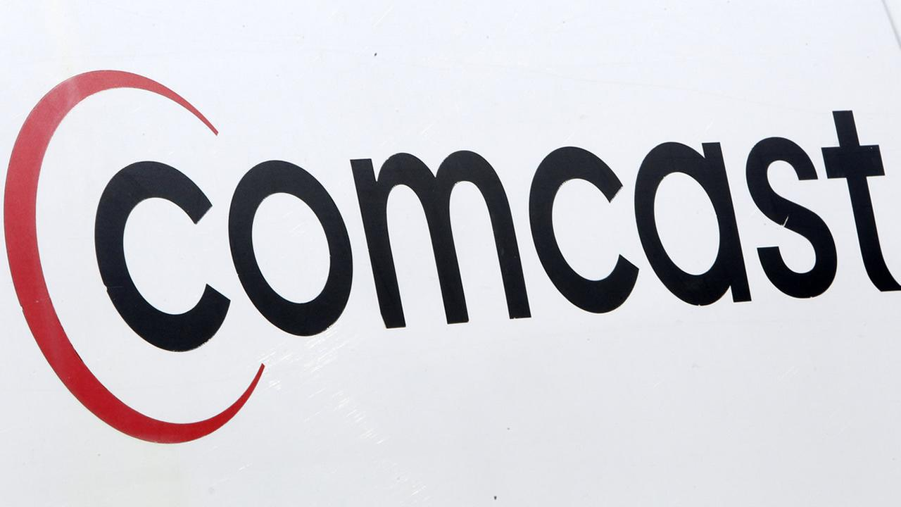 big rig slams into pole  causes comcast outage in